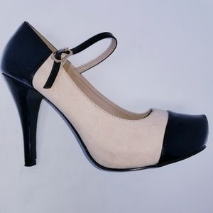 JustFab Heels Ankle Strap Size 7.5